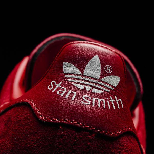 f220fe6e1986f adidas Tenis Originals Stan Smith Mujer - Rojo