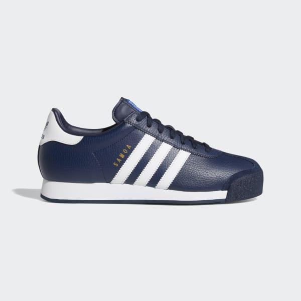 adidas Samoa Grau, Blau & Weiß Schuhe :