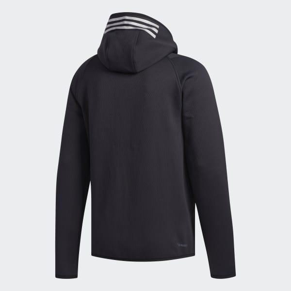 Veste à capuche FreeLift Climaheat Noir adidas | adidas France