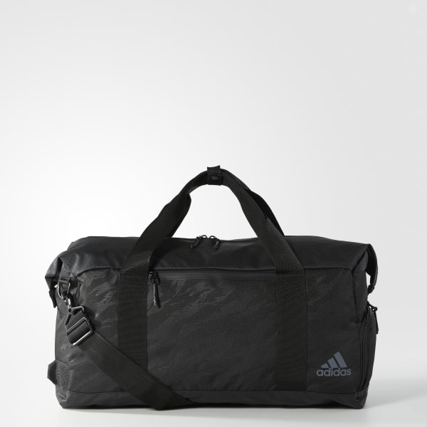 black adidas sports bag