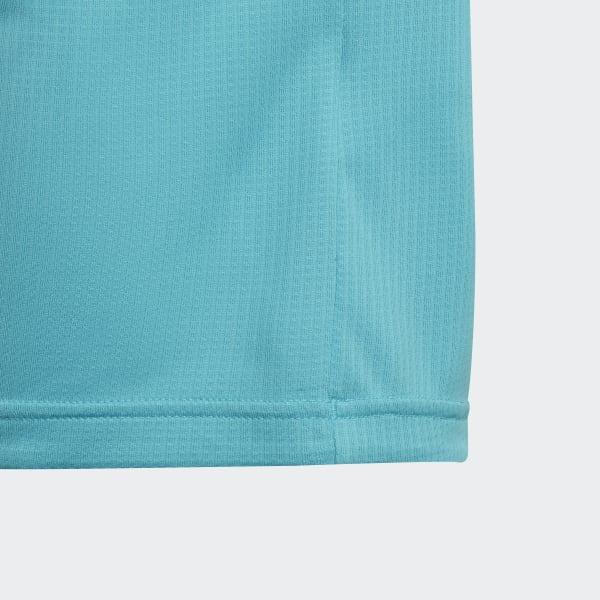 Polera de Entrenamiento Climachill - Turquesa adidas  ad0d5b6ed2e73