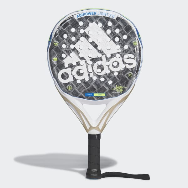 Emociónate educador Retirado  adidas Adipower Light 2.0 Padel Racquet - Grey | adidas UK