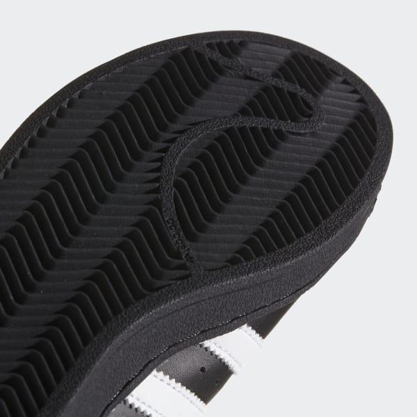 adidas Tenis Superstar - Negro  bf5ee0e1127