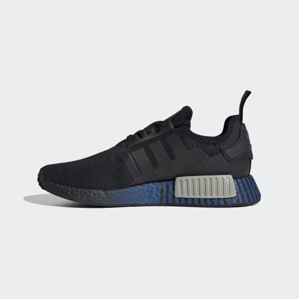 adidas nmd grey and blue