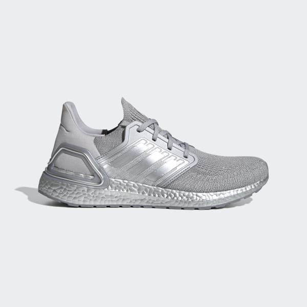 adidas Ultraboost 20 Shoes - Silver