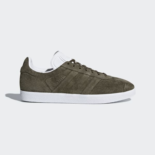 adidas Gazelle Stitch and Turn Shoes - Green | adidas US | Tuggl