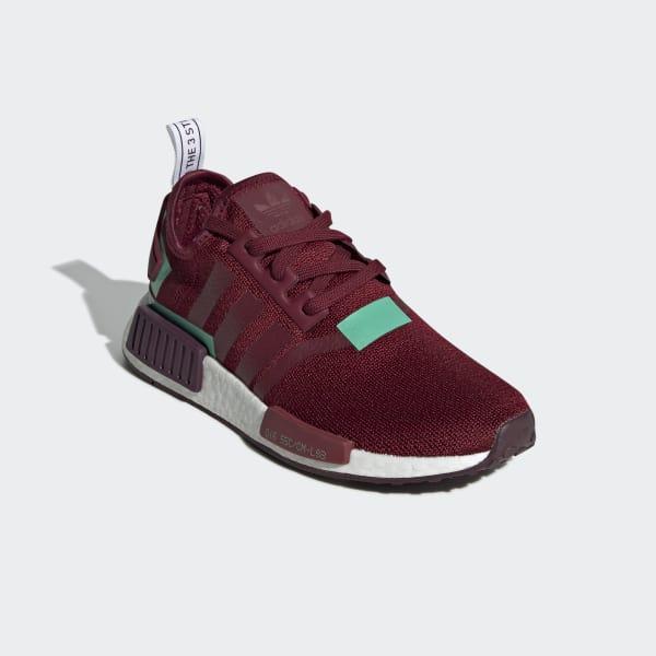 adidas NMD_R1 Shoes - Burgundy | adidas