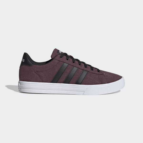 adidas Daily 2.0 Shoes - Burgundy