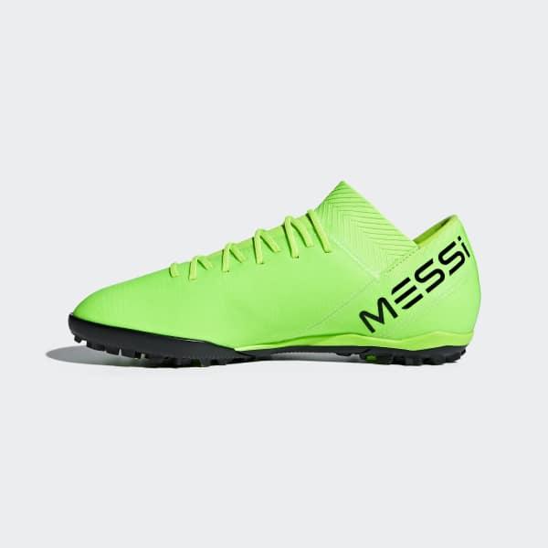 Chuteira Nemeziz Messi Tango 18.3 Society - Verde adidas  8fc096d7a971f