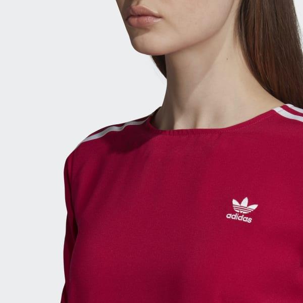 adidas 3-Stripes Tee - Pink   adidas US