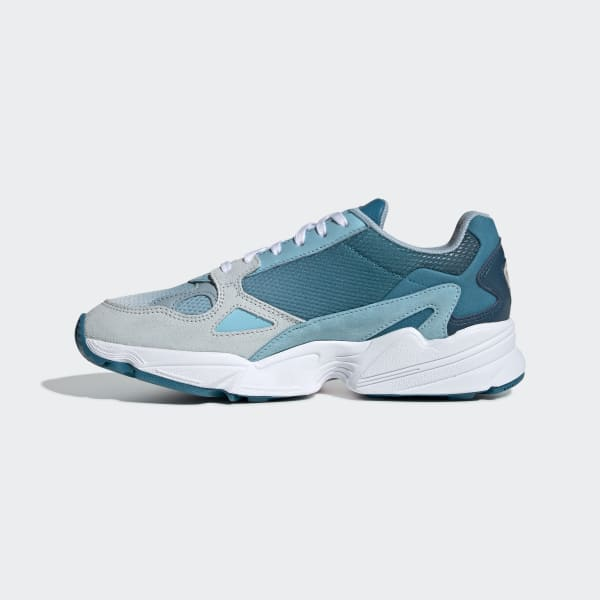 adidas Originals Shoes Falcon W Blue TintLight AquaAsh Grey