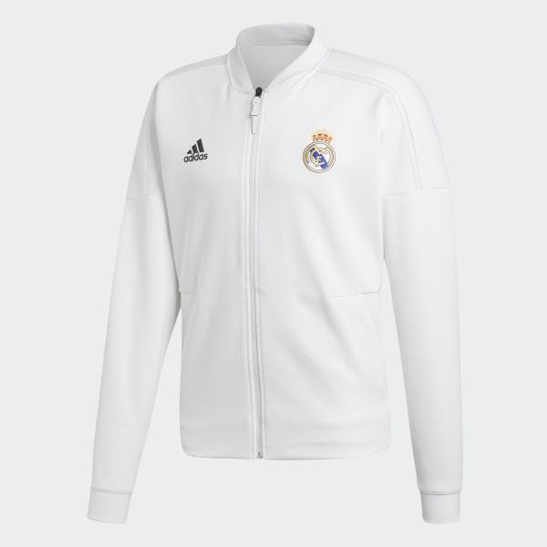 7a639d648d584 adidas Chamarra Real Madrid adidas Z.N.E. 2018 - Blanco