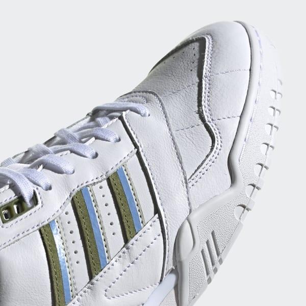 Trainer W Sneaker Damen Damenschuhe Mädchen Turnschuhe Weiss EE5409 Adidas A R