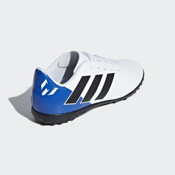 sports shoes b1ed6 0cfa5 adidas Guayos Nemeziz Messi Tango 18.4 Césped Artificial - Blanco   adidas  Colombia