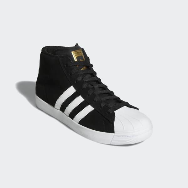 adidas Pro Model Vulc Shoes - Black