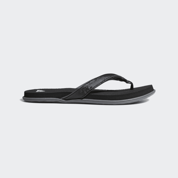 a837291b1 Cloudfoam One Thong Sandals Core Black   Cloud White   Grey Four B41746