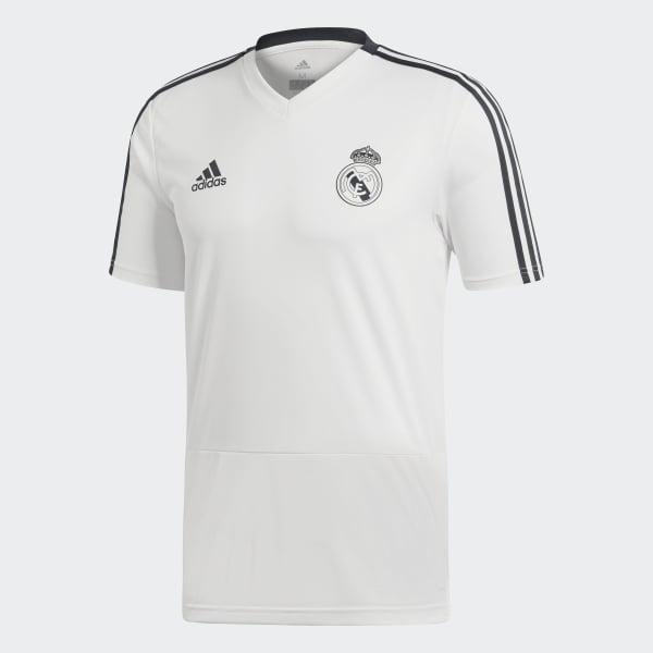 0e91166abab22 Camiseta entrenamiento Real Madrid - Blanco adidas