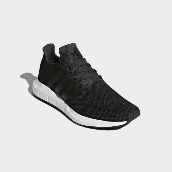 Adidas Swift Run Noir Chaussures Garçon pour Femmes Sportif