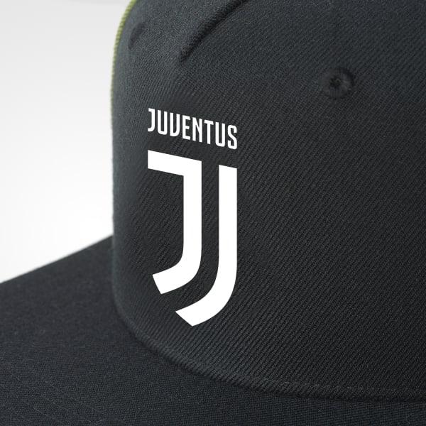 adidas Juventus Flat-Brim Hat - Black  016ff4b462e