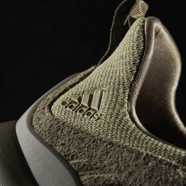 889ffe3a802f1 adidas alphabounce Leather Shoes - Green