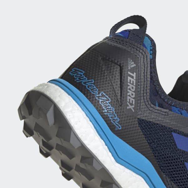 10.5 Blue adidas Terrex Agravic XT TLD Trail Running Shoes