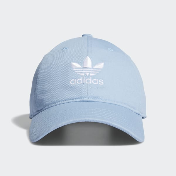 adidas Relaxed Strap-Back Hat - Blue