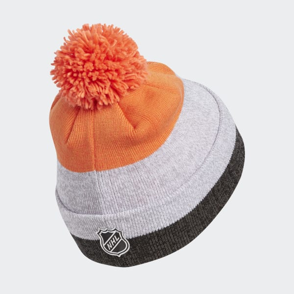 Flyers Team Cuffed Pom Beanie