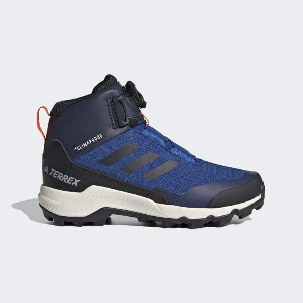 adidas Terrex Winter Mid Boa Hiking Shoes Blue | adidas Belgium