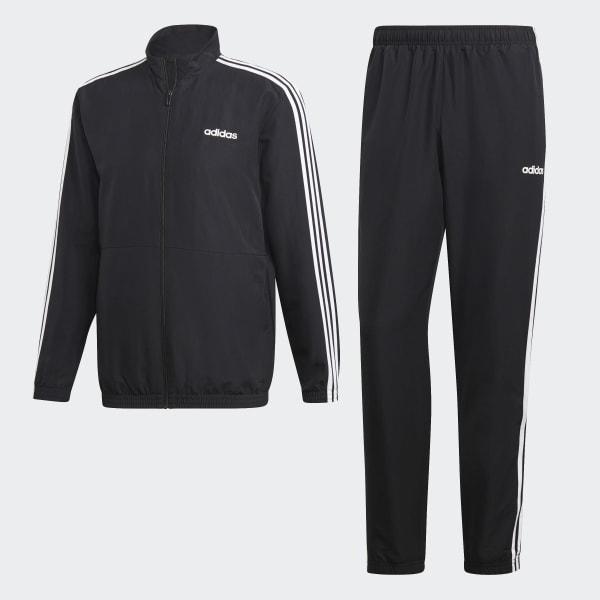 bea43a65079 adidas Tepláková súprava 3-Stripes Woven Cuffed - čierna