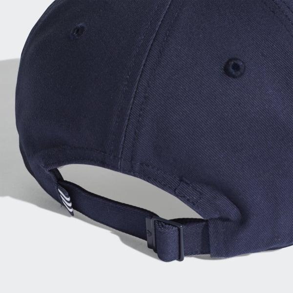3ee07c830e9 adidas Trefoil Baseball Cap - Blue