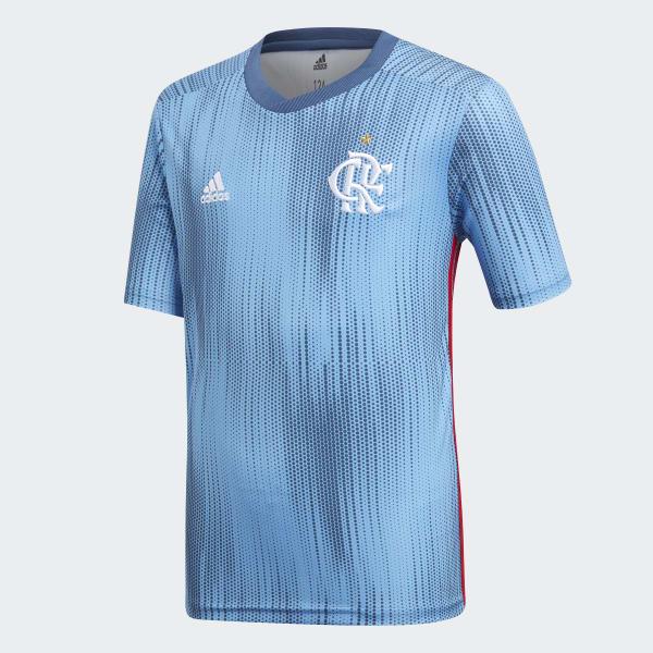 Camisa CR Flamengo 3 Oficial - Azul adidas  4c40f1ff9e9c7