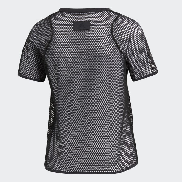 608ee7f2679 adidas ID Mesh Crop Top - Grey | adidas Belgium