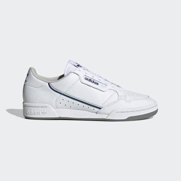 Hvit Adidas Sko Continental 80 – IKKE