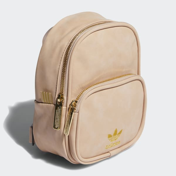 Faux Suede Mini Backpack