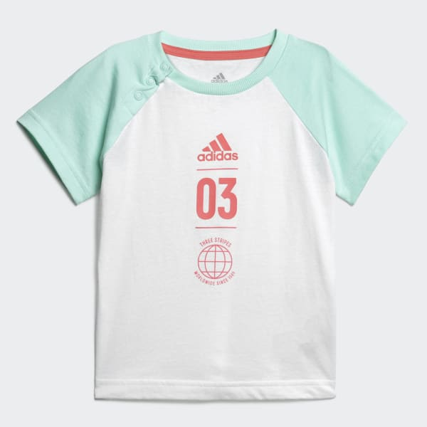 adidas Originals Sommer Set Shirt+Hose für Kleinkinder | sieger preise