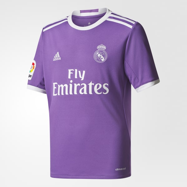 official photos d1aab 9148a adidas Youth Real Madrid Away Replica Jersey - Purple | adidas Canada
