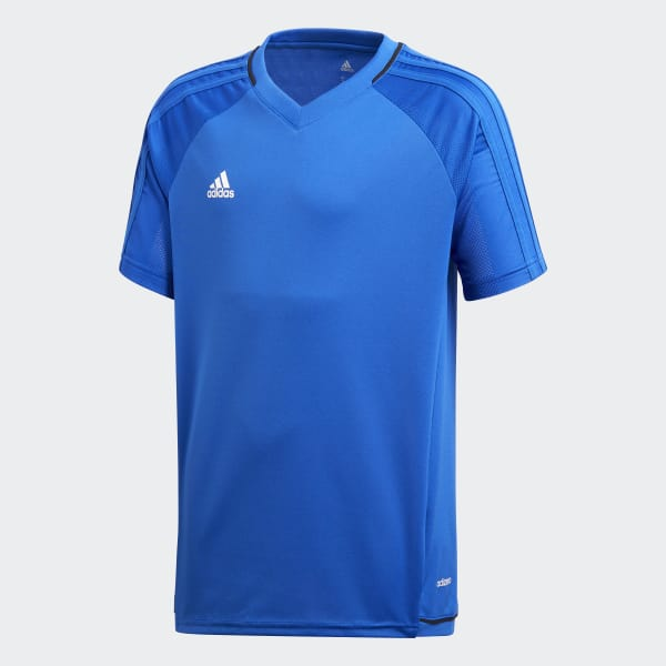 086d818d adidas Tiro 17 Training Jersey - Blue | adidas Switzerland