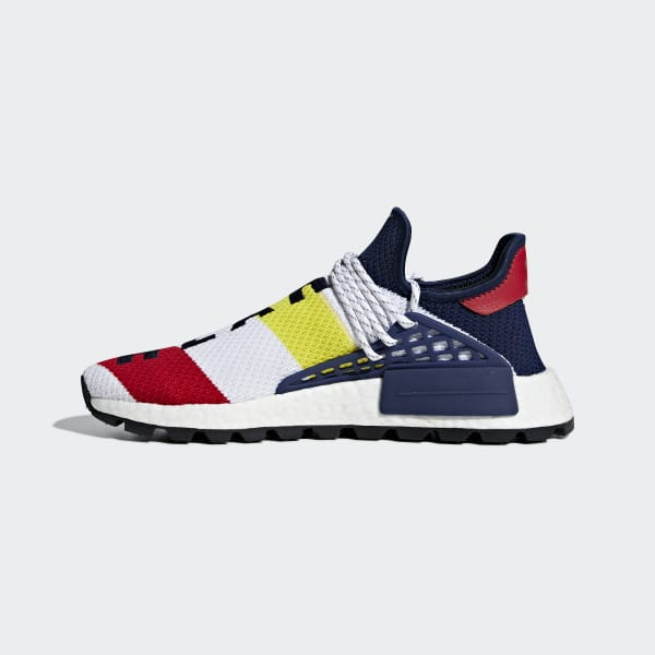 31db1a6cdc13 adidas Pharrell Williams BBC Hu NMD Shoes - White