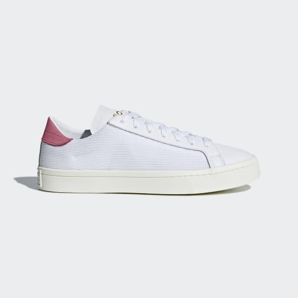 online retailer 1a559 281dd Chaussure Court Vantage blanc DH3188