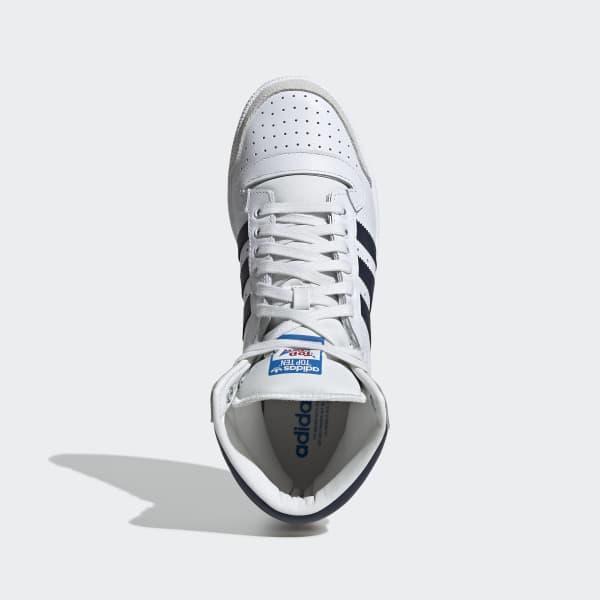 adidas Top 10 Hi Sneaker Gutt Sneakers Hvite, adidas