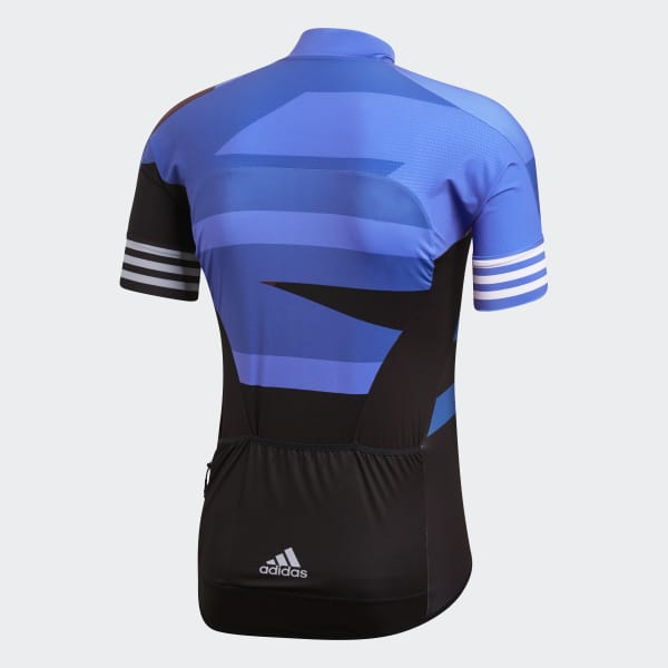 adidas adistar Graphic Cycling Jersey - Blue  c963a37d0