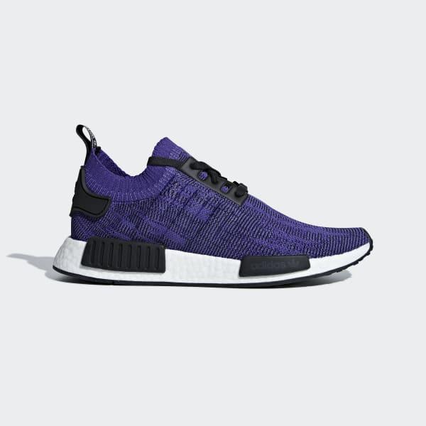 adidas NMD_R1 Primeknit Shoes - Purple | adidas US | Tuggl