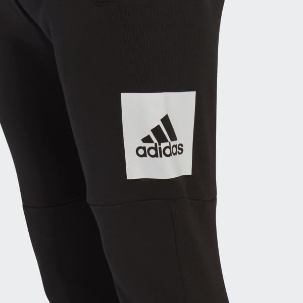 adidas essentials logo sweatpants