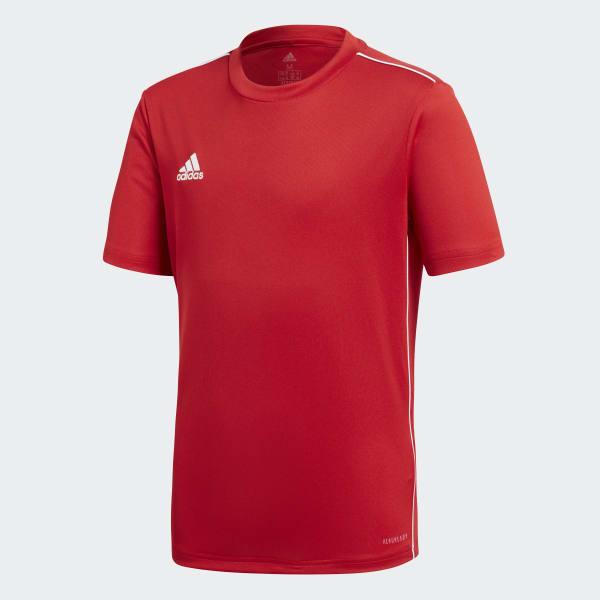 1fed12029423d Camisa Core 18 Infantil - Azul adidas