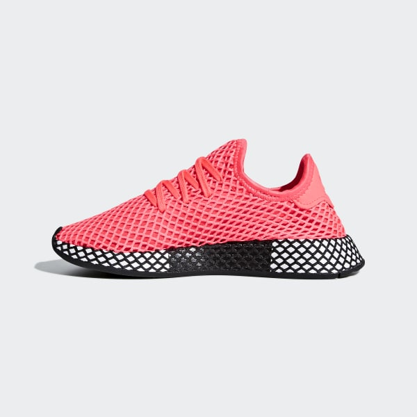 the best attitude b5b5c 5faba adidas Deerupt Runner Shoes - Pink  adidas US