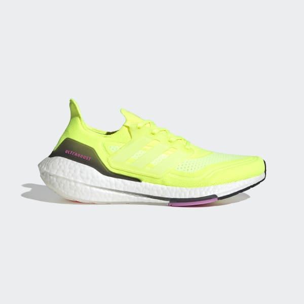adidas boost yellow