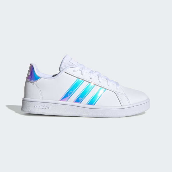 adidas grand court holographic