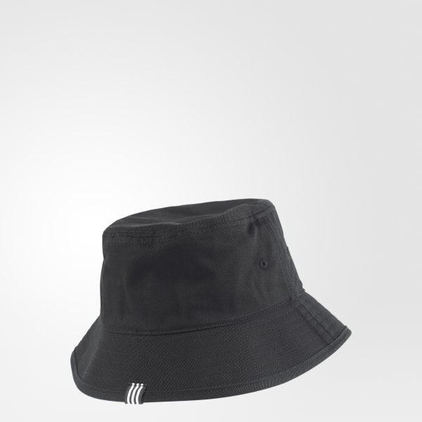 adidas Adicolor Bucket Hat - Black  3ed11b40868d