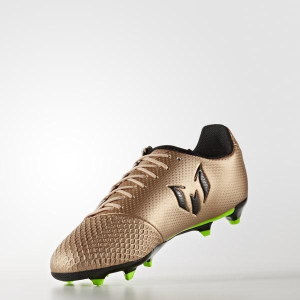 c12454b284a70 adidas Calzado de Fútbol Messi 16.3 Terreno Firme - Café