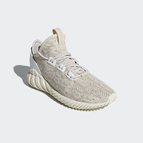 adidas Tubular Doom Sock Primeknit Shoes - Beige  d3498f847